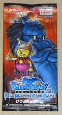 Japanese Blue Dragon Role Playing Card Game Vol 3 Crusade of Jibura Booster Pack