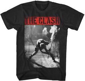 THE CLASH SMASHING GUITAR PARTY CRAZY HARDCORE MUSIC PUNK ROCK T TEE SHIRT S-2XL