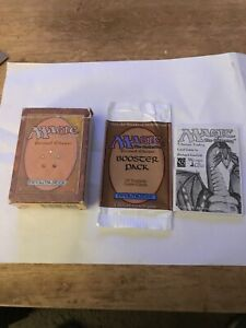 MTG Revised Starter and Booster Opened