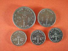 2 Fr 1 Fr en 50 centiem Albert I Bonnetain Verschillende jaartallen