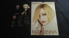 MADONNA OFFICIAL 2007 CALENDAR + OFFICIAL CARD MINT RARE REBEL HEART