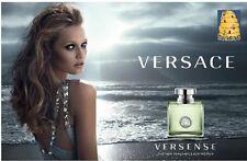 3 PC Versace Versense Eau de Toilette Spray Gift Set + Mini + Body Lotion