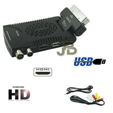 DECODER SCART MINI HDMI FULL HD RICEVITORE DIGITALE TERRESTRE DVB T2 USB