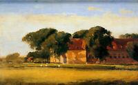 "stunning art 36x24 oil painting handpainted on canvas ""landscape """