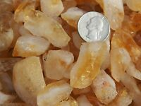 2000 Carat Lots of Citrine Points Rough - Plus a FREE Faceted Gemstone