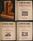 Le Pays de France - 3 Volumes - Lucien Tillion - Eds. Hachette - 1926