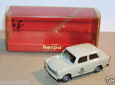 MICRO HERPA HO 1/87 TRABANT 601 S POSITION GERMAN GREY IN BOX