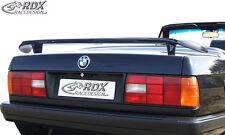 RDX trasero BMW e30 Limousine Coupe Cabrio Heck alas alas alerón trasero