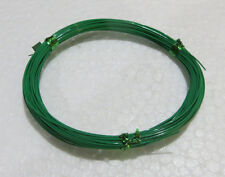 30 ft Green Mil M81822/13 ETFE Wire 30AWG TEFZEL Silver plated