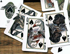 GAME BIRD Poker Playing Cards Hunting LIMTED EDITION CUSTOM LOT OF 5  FREE GIFT