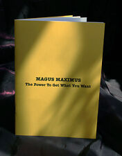 THE POWER TO GET WHAT YOU WANT, Magus Maximus , Finbarr Grimoire, Magick, Occult