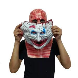 Halloween Scary Skull Mask Double Face Skeleton Party Joker Cosplay Costume New