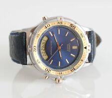 Casio AD-512 module 388 vintage digital 39mm ana digi vintage two tones watch