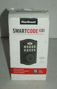 NEW KWIKSET 46101-001 SMARTCODE 913 BRONZE ELECTRONIC DEADBOLT FREE PRIORITY S&H