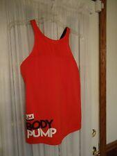 Reebok Speedwick Les Mills Body Pump Tank/Bra XL Red *PreOwned*