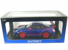 Autoart - Porsche 911 (997) Gt3rs 3.8 (blue/red Stripe)