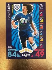 Match Attax Season 16/17 Chelsea #61 David Luiz