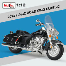 NEW 1:12 SCALE MOTORCYCLE MODEL TOY HARLEY DAVIDSON 2013 FLHRC ROAD KING CLASSIC