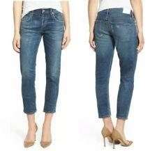 Citizens of Humanity Premium Vintage Elsa Slim Fit Crop Jeans in Dossier 25