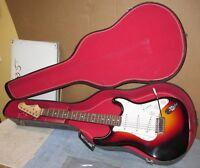Vtg STANDARD S101 Electric Guitar Strat Type/Tobacco Sunburst 3 Pickup J42