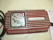 MSD BTM Ignition box, tested good with instructions.  7000 RPM Chip