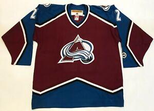 Koho Colorado Avalanche KONOWALCHUK #22 NHL Hockey Jersey Adult XL Sewn Canada
