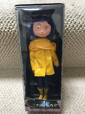 "7"" CORALINE w/ raincoat doll / figure Reel NECA Toys Caroline Highly Detailed!"