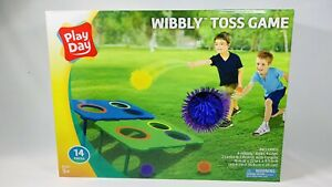 Play Day Wibbly 14 Piece Toss Game Ages 5+ Brand New Sealed!