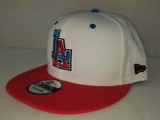 New Era Los Angeles Dodgers MLB Split Color 9FIFTY Snapback Hat - OSFA $32