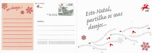 ✱ 🇵🇹 PORTUGAL ✱  2007 CHRISTMAS ENTIRE POSTAL STATIONERY