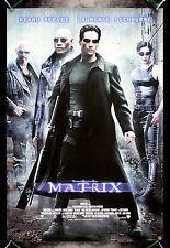 THE MATRIX * CineMasterpieces ORIGINAL VIDEO MOVIE POSTER KEANU REEVES 1999