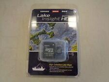LOWRANCE SD CARD LAKE INSIGHT (2013) HD 000-11055-001 MARINE BOAT