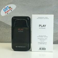 Givenchy Play Intense Tester By Givenchy 3.3 oz EDT Spray For Men New