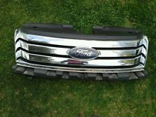 2008-2009 FORD TAURUS X FRONT CHOME GRILL OEM SEE PHOTO