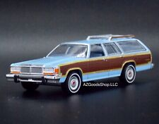"""1979 Ford Ltd Country Squire """"Charlie's Angels"""" 1:64 Die Cast Wagon Car #A67"""