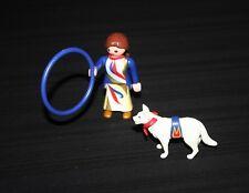 Playmobil cirque dresseuse de chiens savants 4237