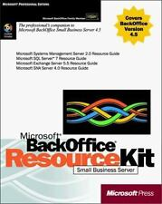 Microsoft BackOffice Small Business Server 4.5 Resource Kit by Microsoft Corpor