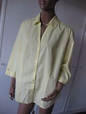 Via Appia - DUE- exclusive Bluse 48 sonnengelb  3/4 Arm