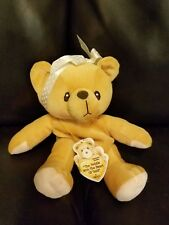 "Enesco Cherished Teddie ""The Teddie With The Heart Of Gold"" 1999 7"" Plush"