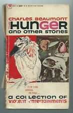 The Hunger And Other Stories by Charles Beaumont Vintage Pb - Early Print 1959