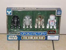 Disney Parks Star Wars Rogue One Astromech Droids Factory 4 Figure Set NEW