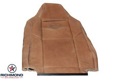 03 04 05 Ford F350 King Ranch -Driver Side Lean Back Leather Seat Cover, Brown