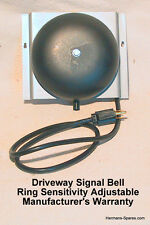 Driveway Service Gas Station Signal Bell wo/Hose-NEW
