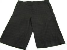 Hurley Men's Size 34 Shorts Black Slim Fit