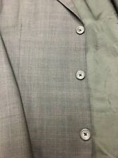 42L Harold's Men's 3 Button Wool Blazer Sport Coat Jacket (Italy) Gray Exc!