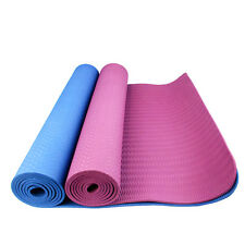 Thick Eco Friend TPE Exercise Pilate Mat Free Carry Strap