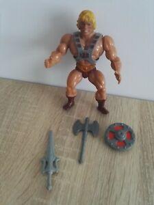 MAITRES DE L'UNIVERS MOTU He-Man Musclor complet Mattel 1981