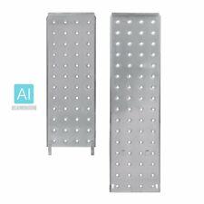 2PC Aluminum Platform Plates for Folding Step Ladder
