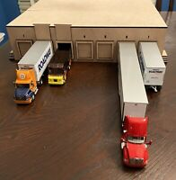 1/64 7 Bay Loading Dock Shop Warehouse for Tractor Trailer Trucks (Docks 1 - 7)