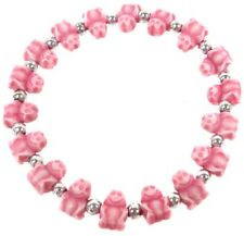 Frogz Pink Frogs Bracelet